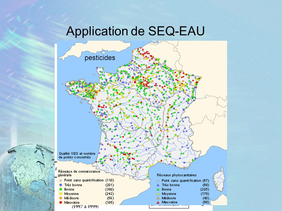 Application de SEQ-EAU