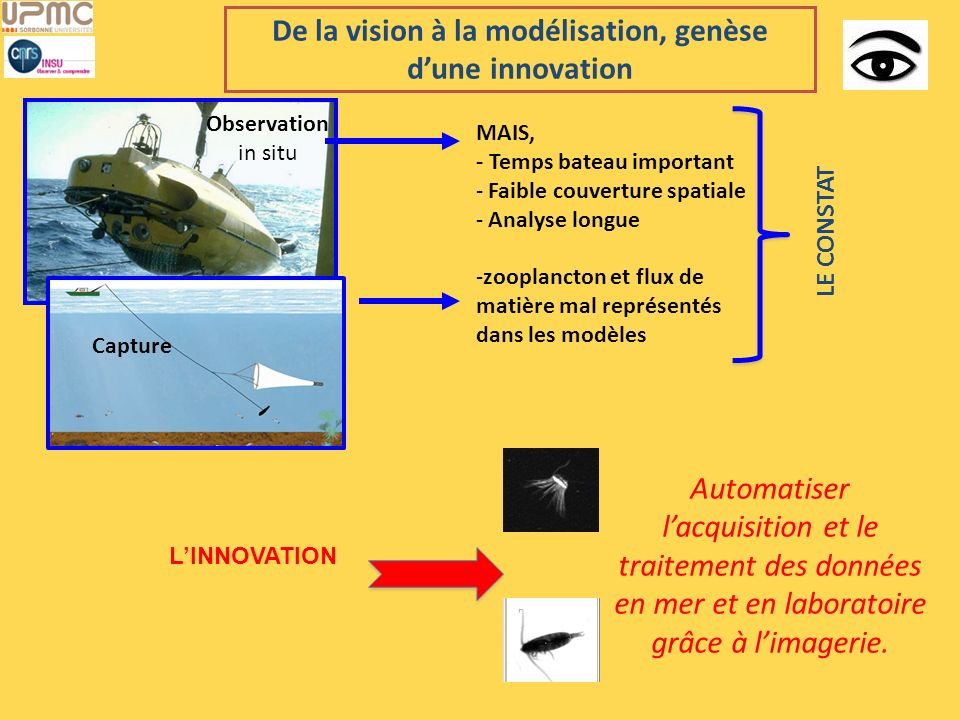 De la vision à la modélisation, genèse d'une innovation