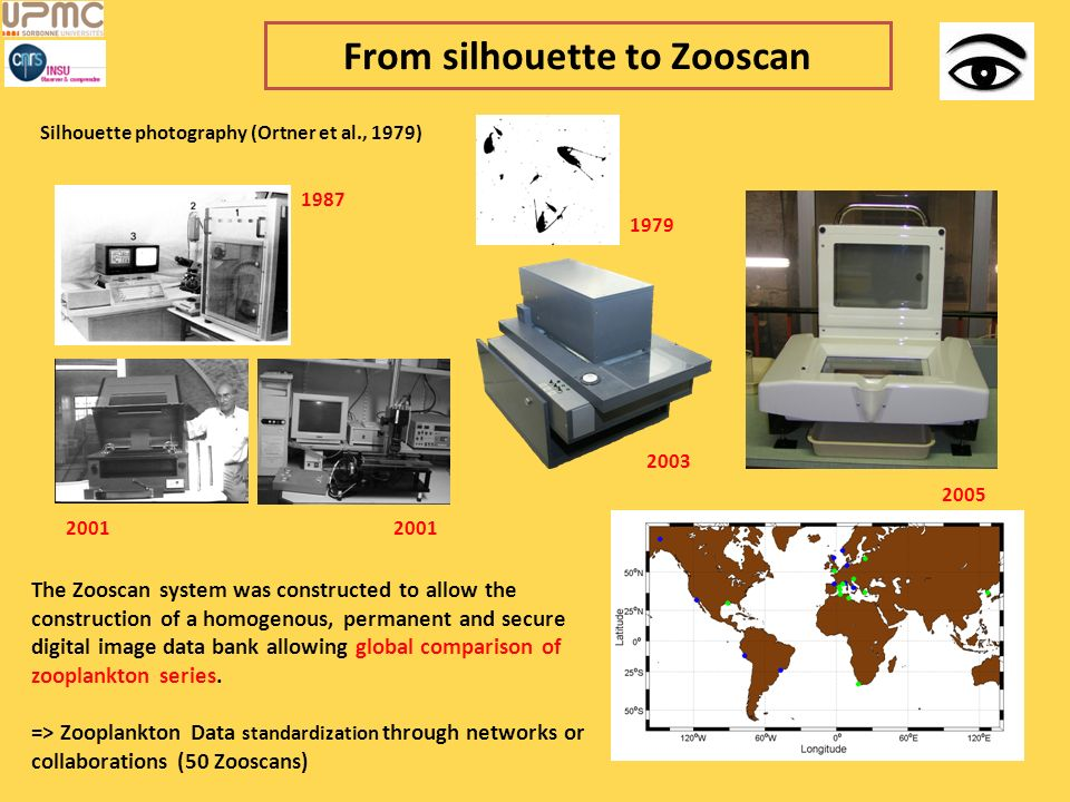 From silhouette to Zooscan