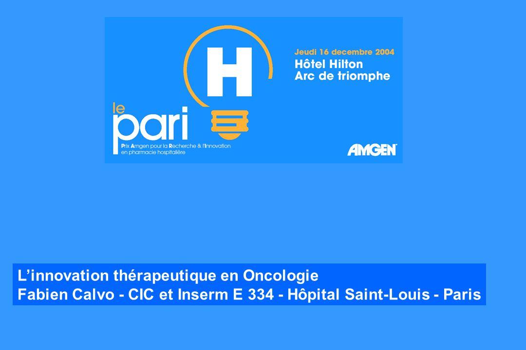 L'innovation thérapeutique en Oncologie