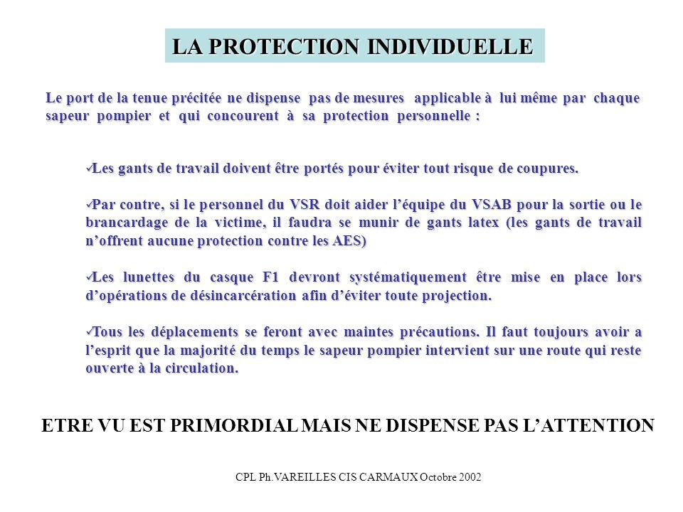 CPL Ph.VAREILLES CIS CARMAUX Octobre 2002