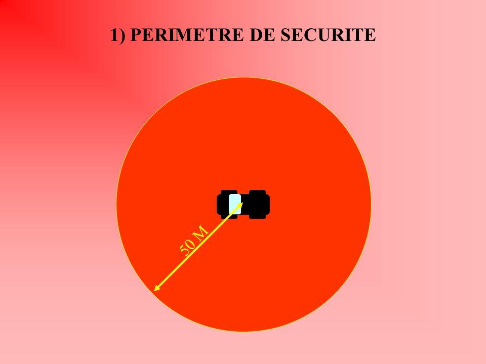 1) PERIMETRE DE SECURITE