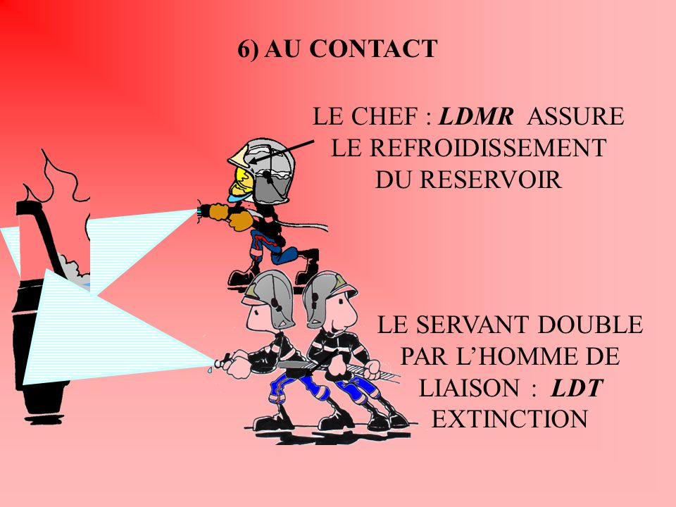 LE CHEF : LDMR ASSURE LE REFROIDISSEMENT DU RESERVOIR