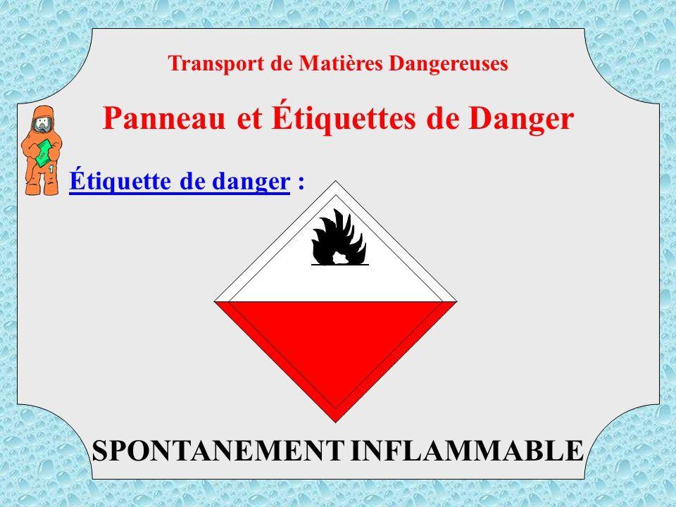 Panneau et Étiquettes de Danger
