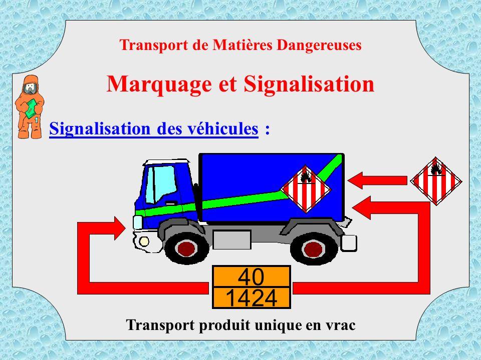 Marquage et Signalisation