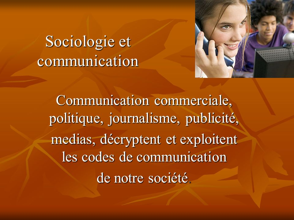 Sociologie et communication