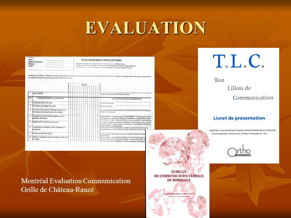 EVALUATION Montréal Evaluation Communication Grille de Château-Rauzé
