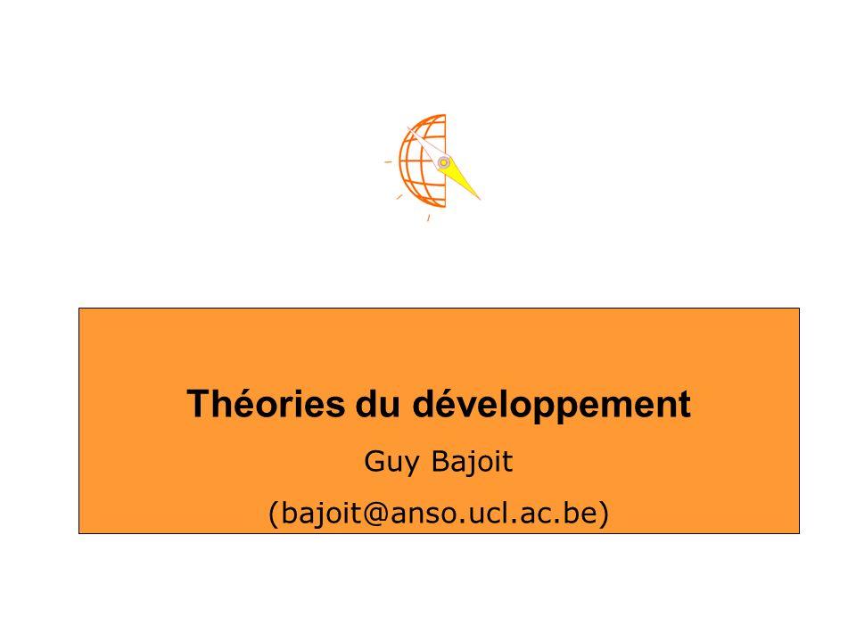 Théories du développement