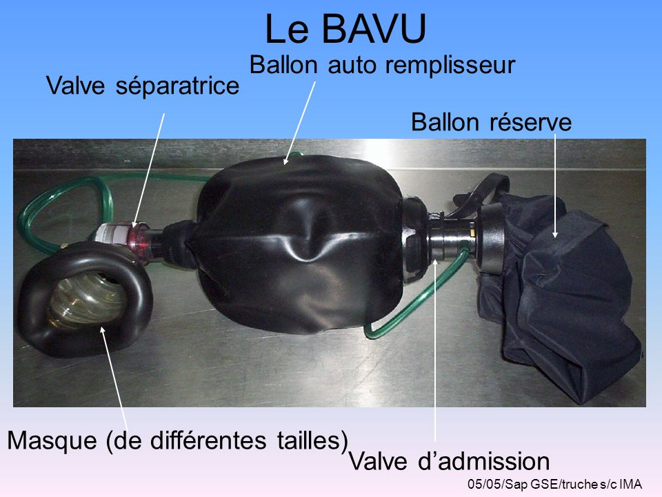 Le BAVU Ballon auto remplisseur Valve séparatrice Ballon réserve