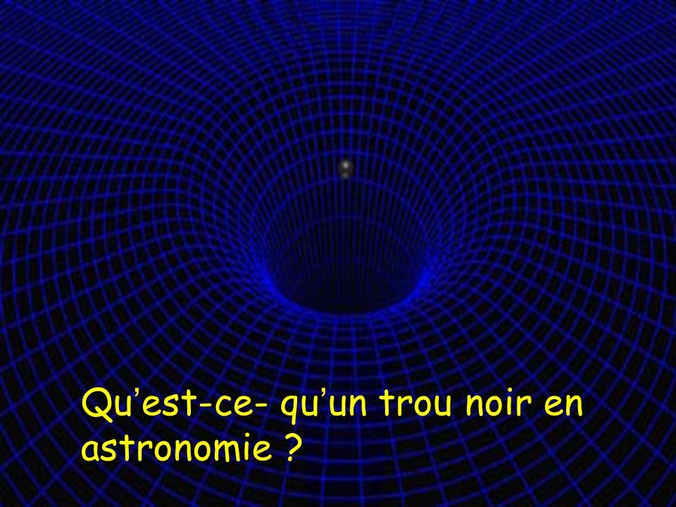 Qu'est-ce- qu'un trou noir en astronomie