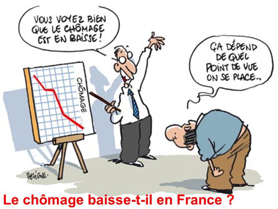 Le chômage baisse-t-il en France