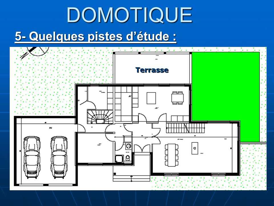 DOMOTIQUE 5- Quelques pistes d'étude : Terrasse