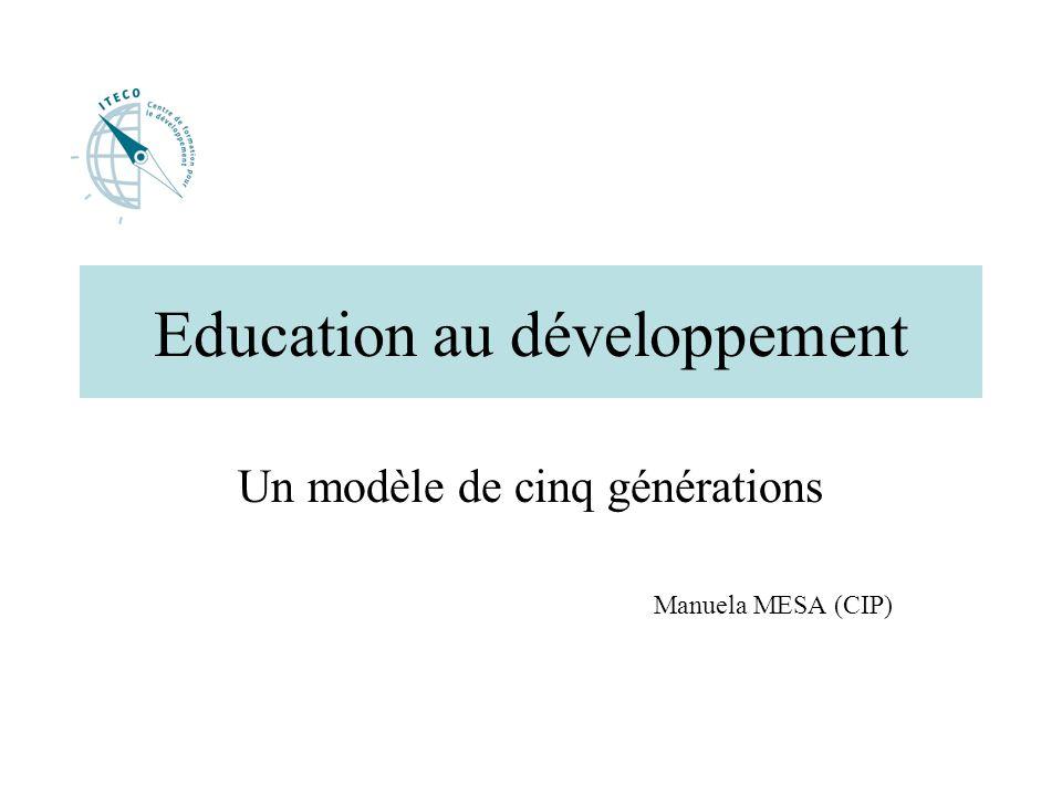 Education au développement