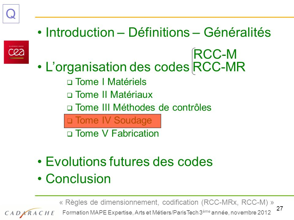 Introduction – Définitions – Généralités