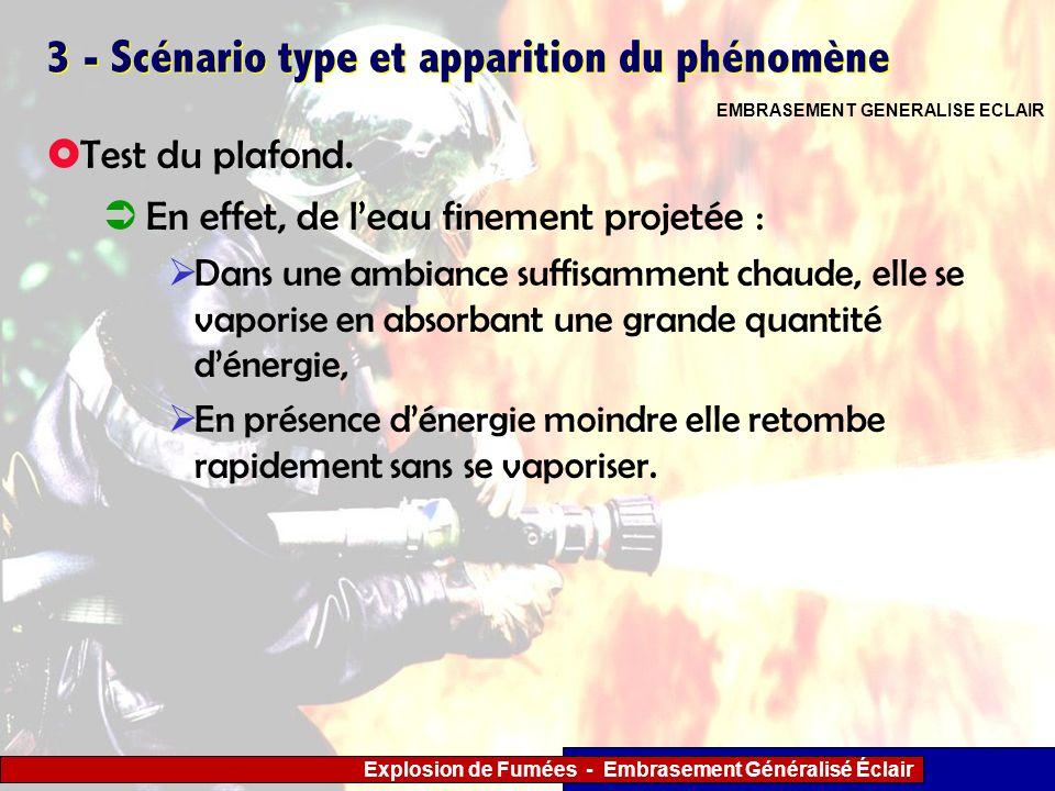3 - Scénario type et apparition du phénomène