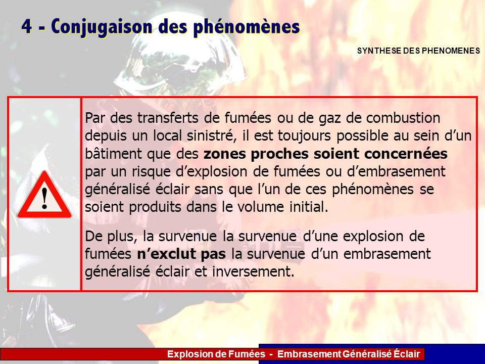 4 - Conjugaison des phénomènes