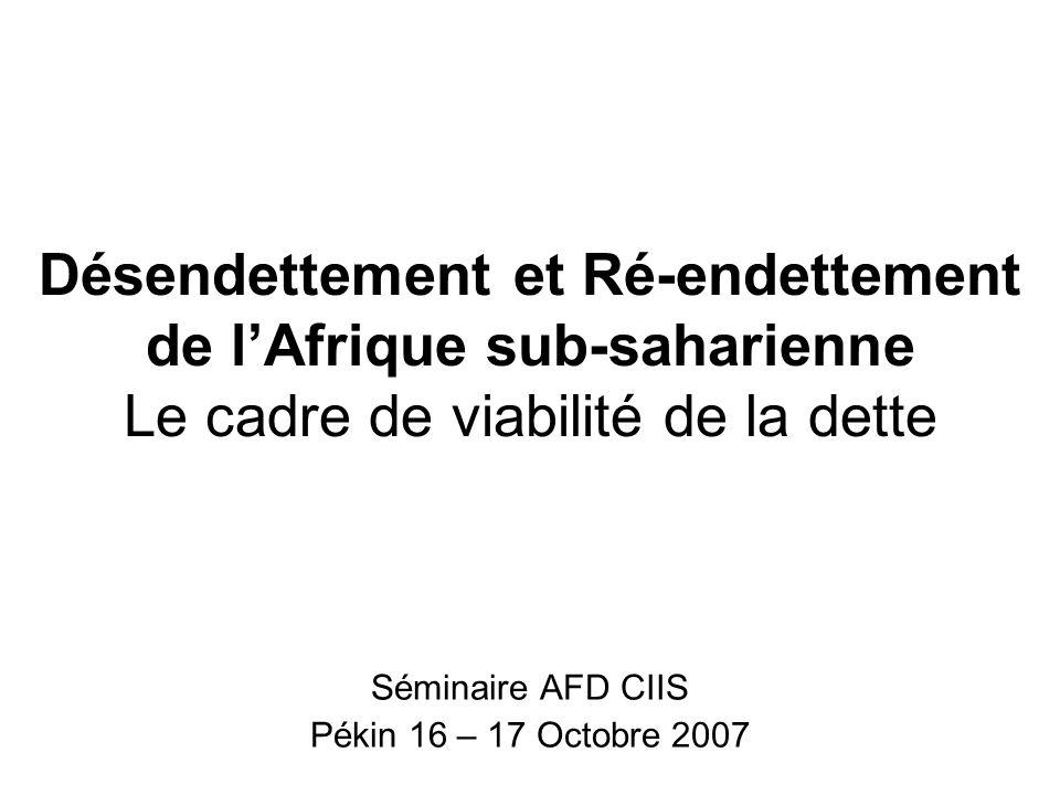 Séminaire AFD CIIS Pékin 16 – 17 Octobre 2007