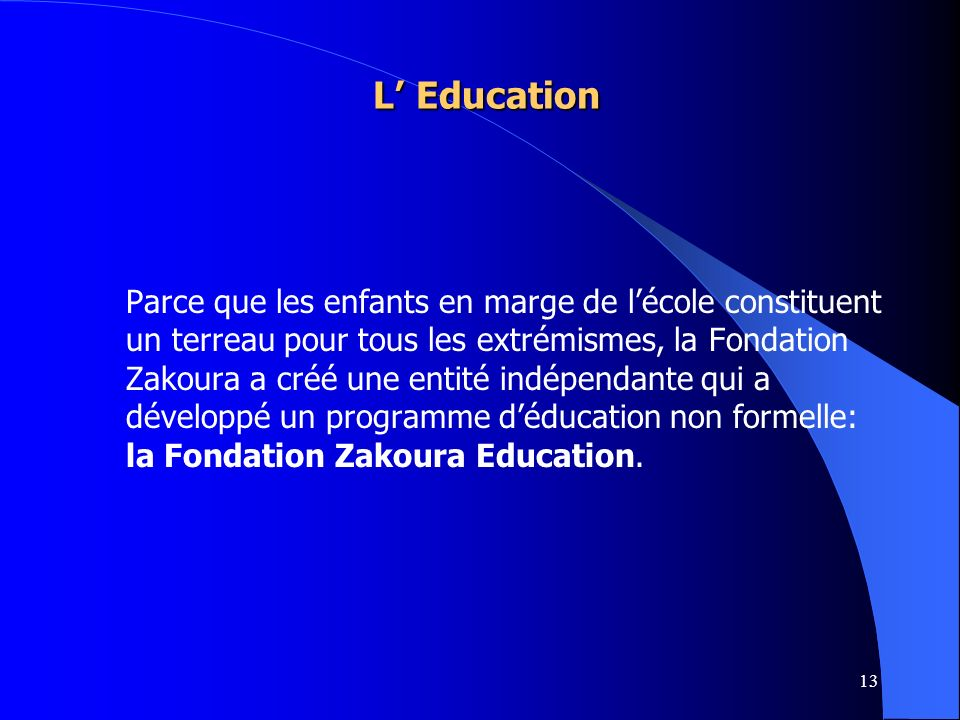 L' Education