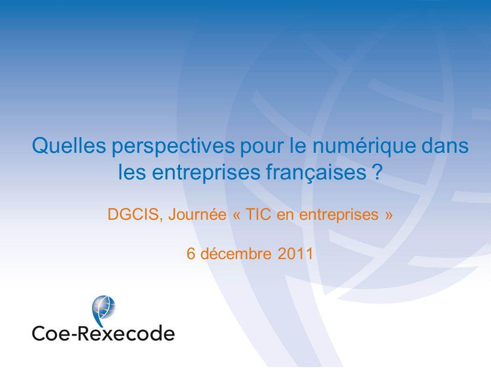 Quelles perspectives pour le numérique dans les entreprises françaises
