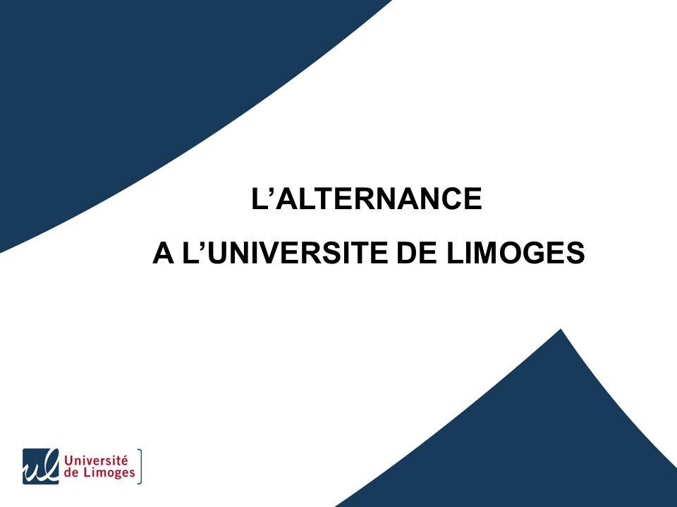 A L'UNIVERSITE DE LIMOGES