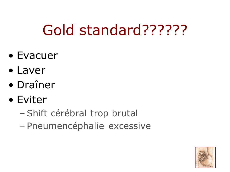Gold standard Evacuer Laver Draîner Eviter