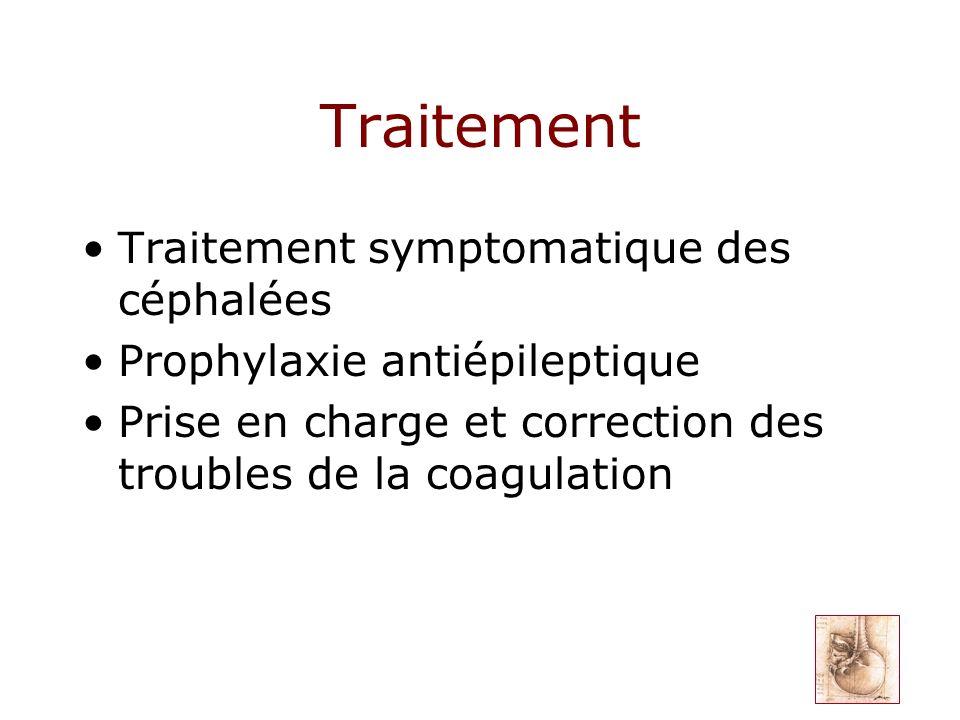 Traitement Traitement symptomatique des céphalées