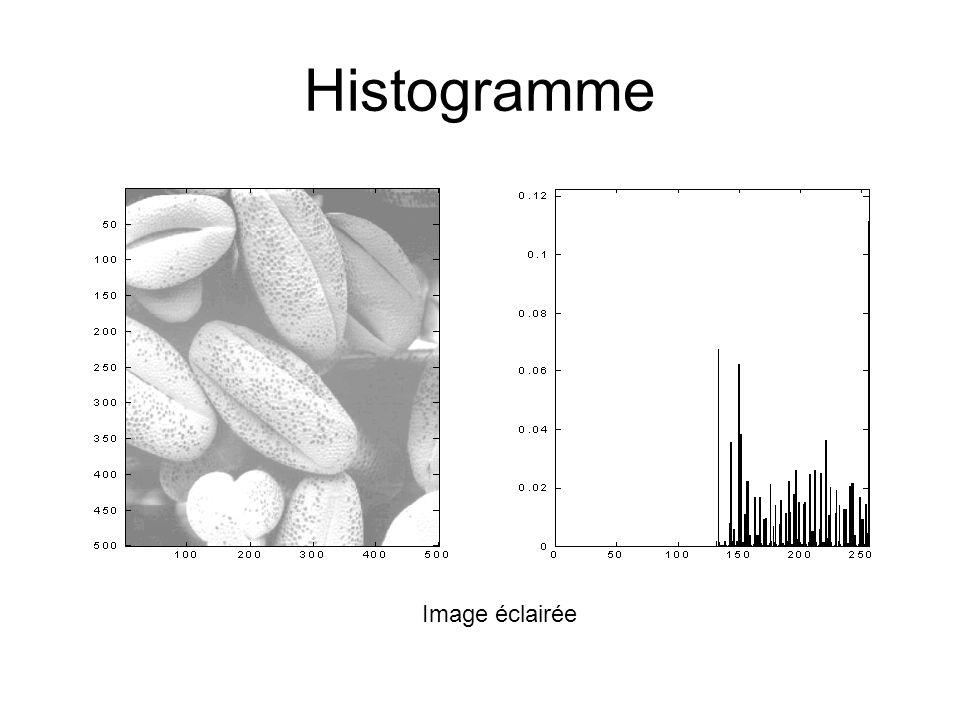 Histogramme Image éclairée