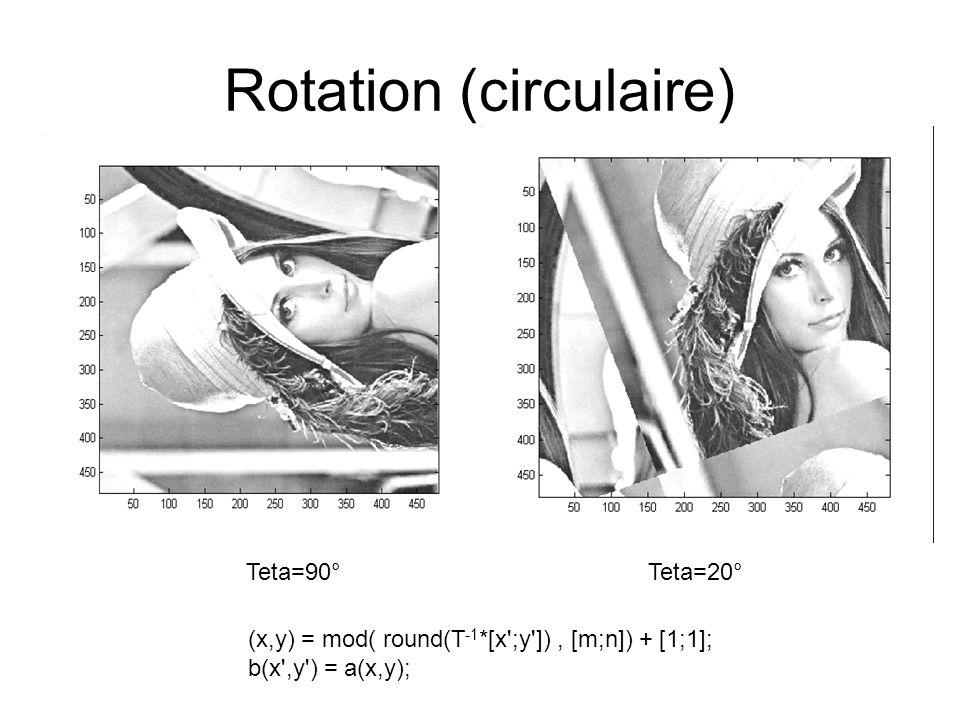 Rotation (circulaire)