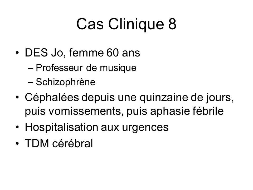 Cas Clinique 8 DES Jo, femme 60 ans