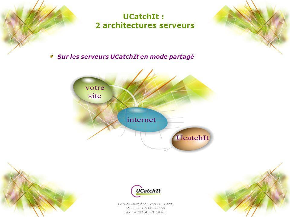 2 architectures serveurs