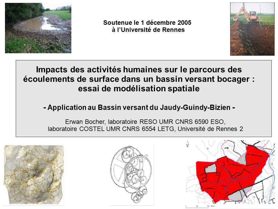 - Application au Bassin versant du Jaudy-Guindy-Bizien -