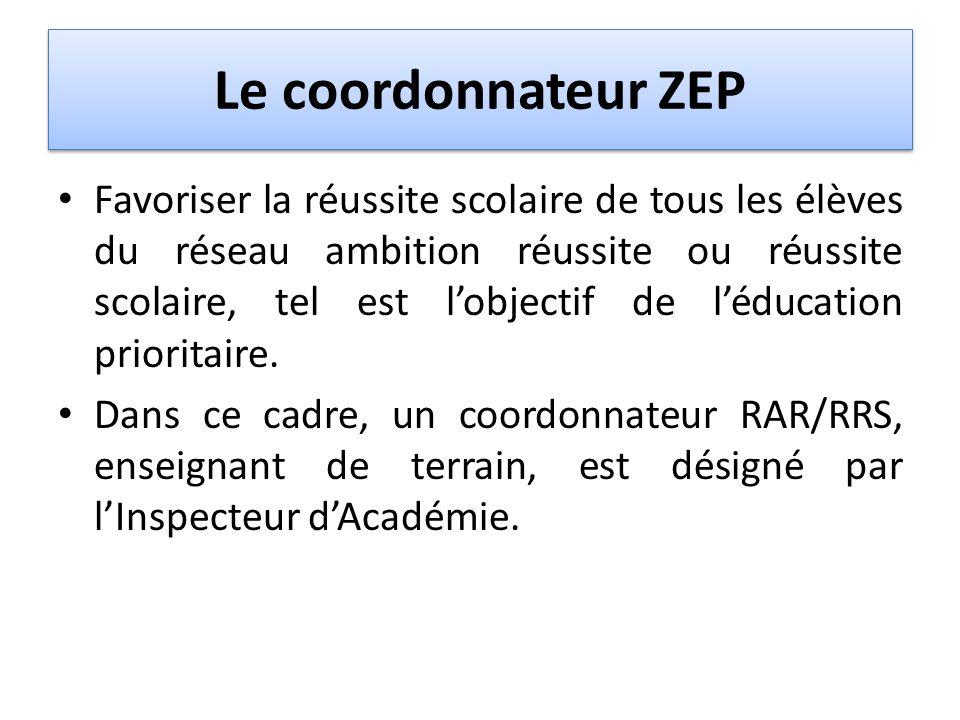 Le coordonnateur ZEP