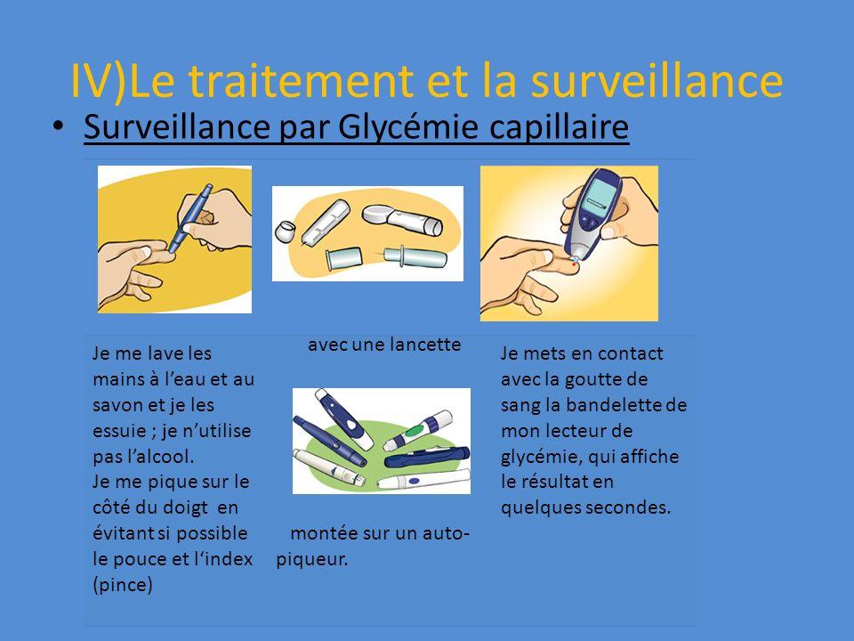 IV)Le traitement et la surveillance