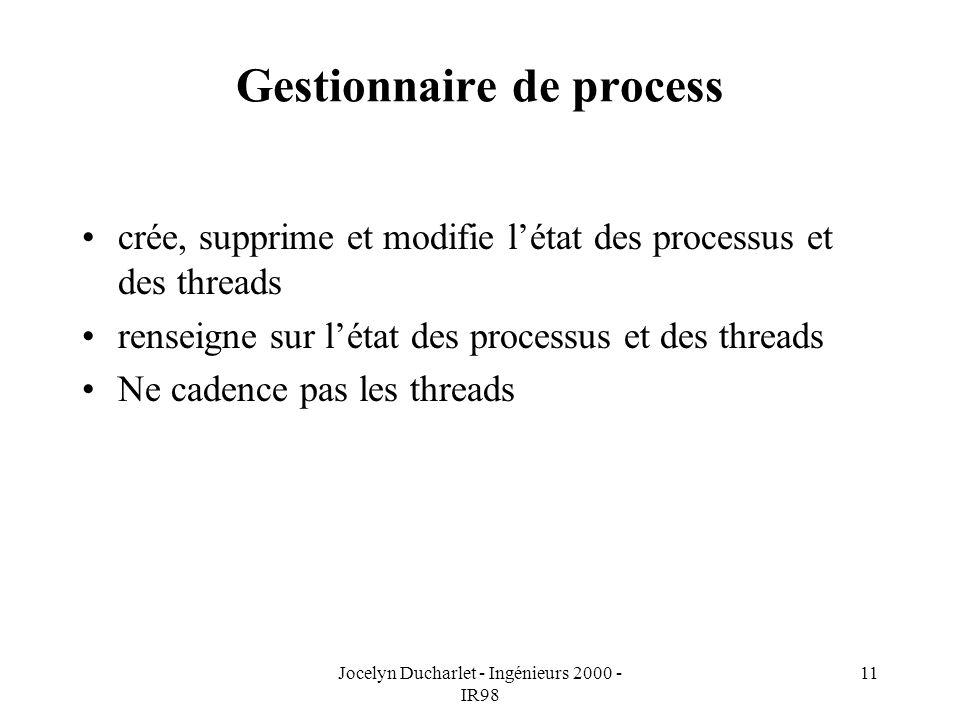 Gestionnaire de process