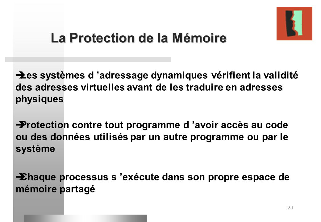 La Protection de la Mémoire