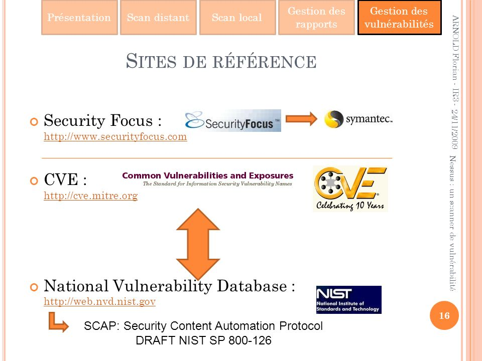 SCAP: Security Content Automation Protocol
