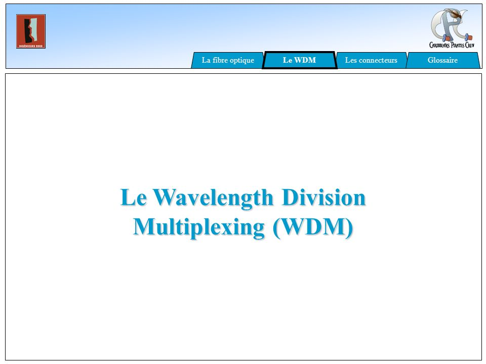 Le Wavelength Division Multiplexing (WDM)