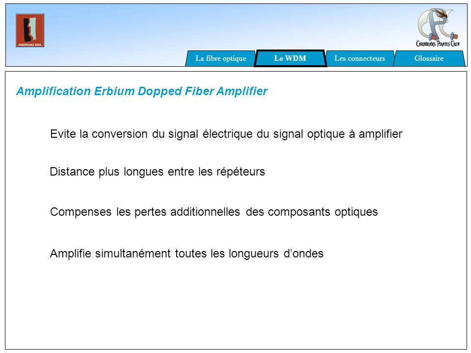 Amplification Erbium Dopped Fiber Amplifier