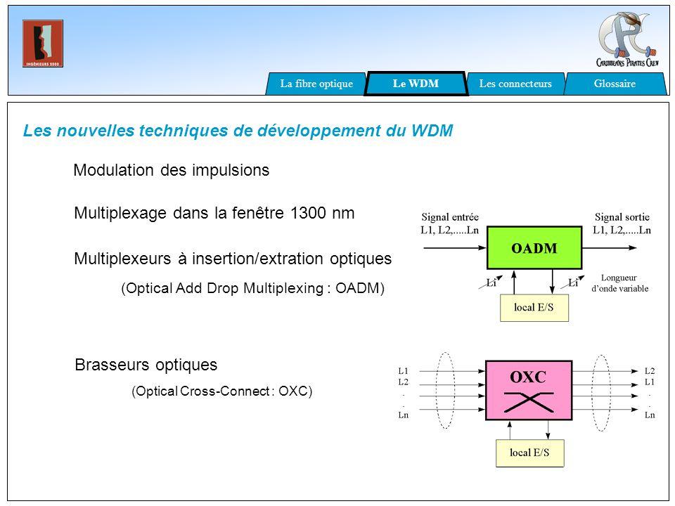 Les nouvelles techniques de développement du WDM