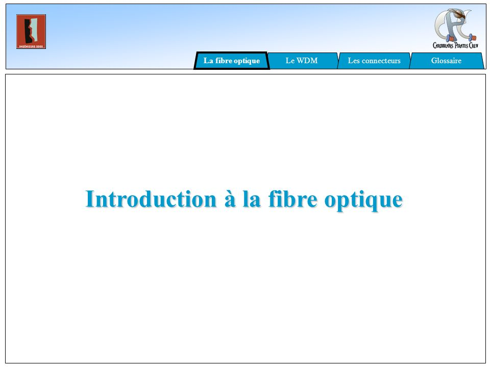 Introduction à la fibre optique