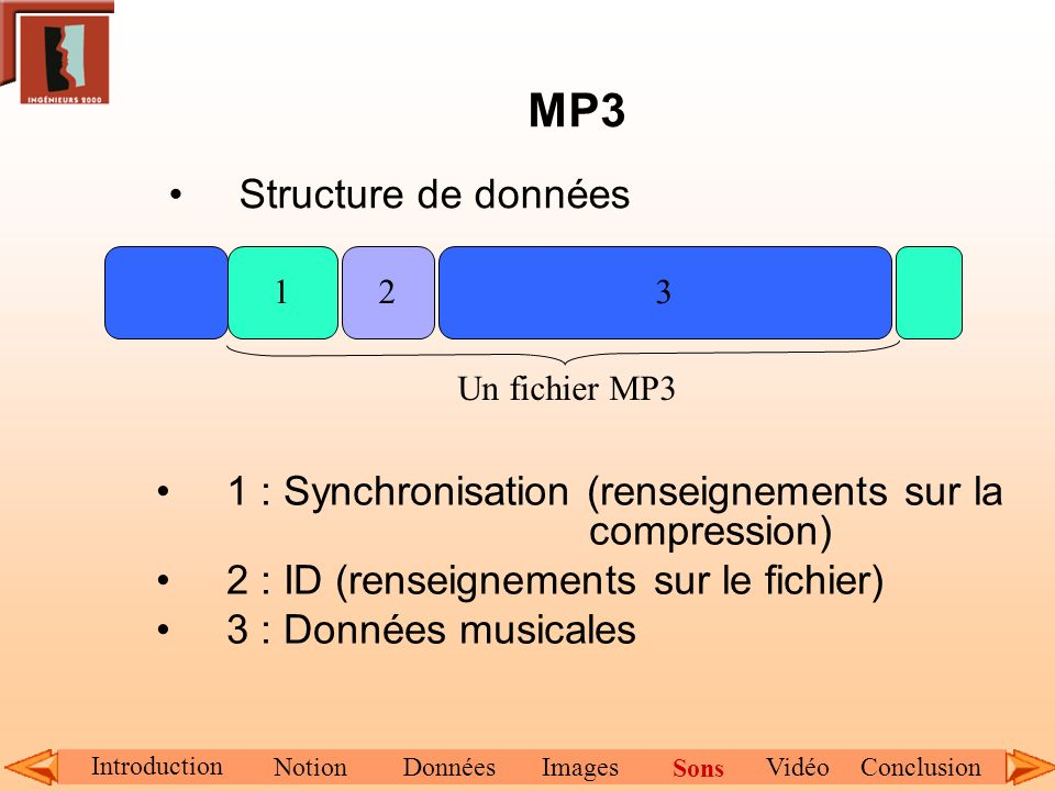 MP3 Structure de données