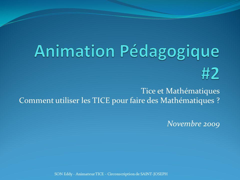 Animation Pédagogique #2