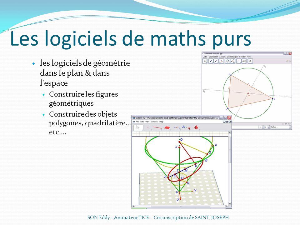 Les logiciels de maths purs