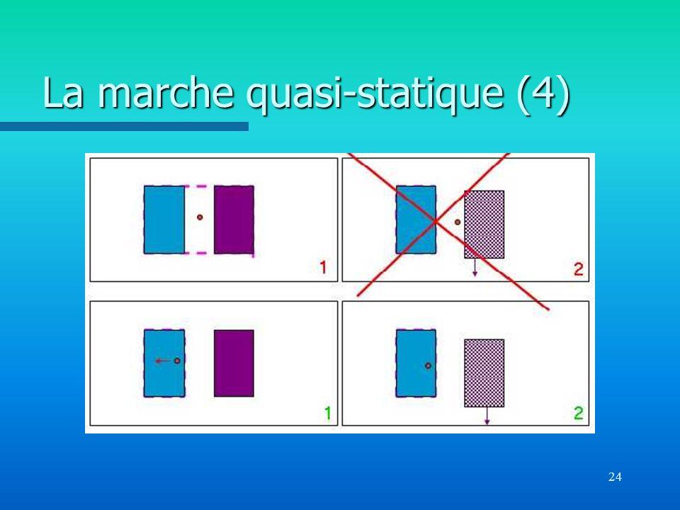 La marche quasi-statique (4)