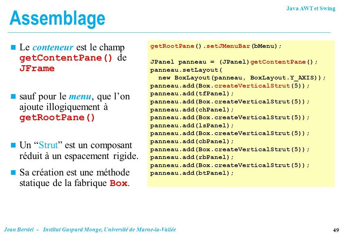 Composants Graphiques De Java Ppt T 233 L 233 Charger