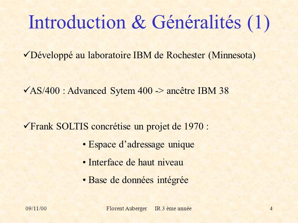 Introduction & Généralités (1)