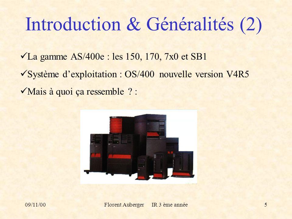 Introduction & Généralités (2)