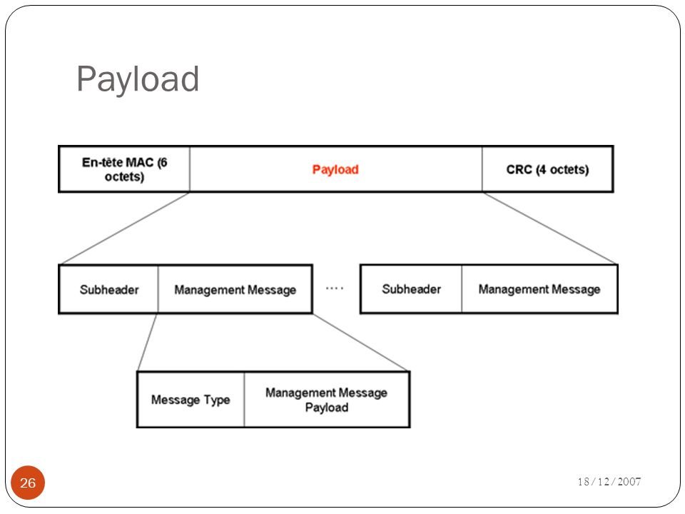 Payload 18/12/2007