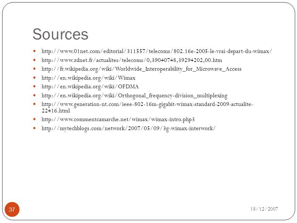 Sources http://www.01net.com/editorial/311557/telecoms/802.16e-2005-le-vrai-depart-du-wimax/