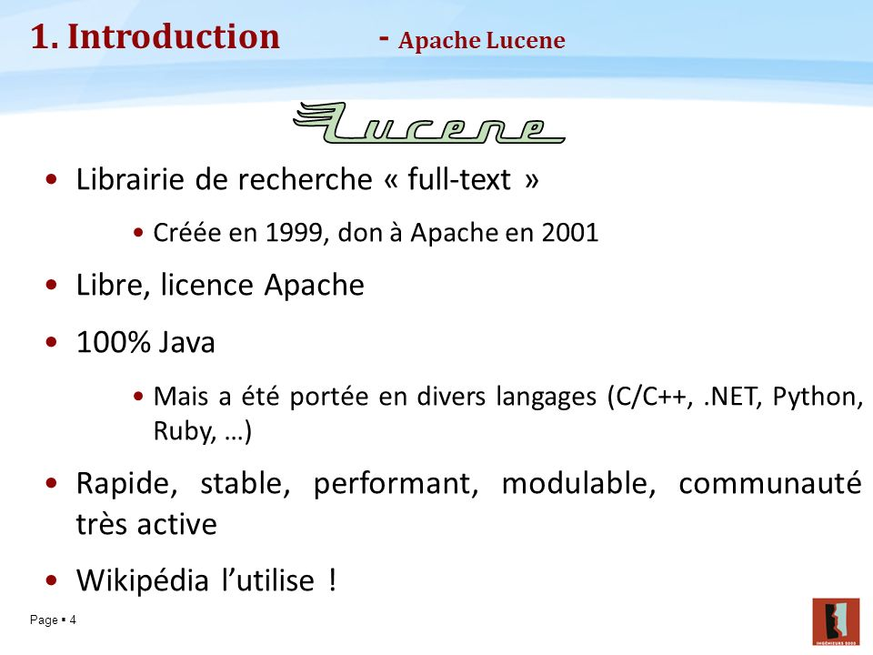 1. Introduction - Apache Lucene